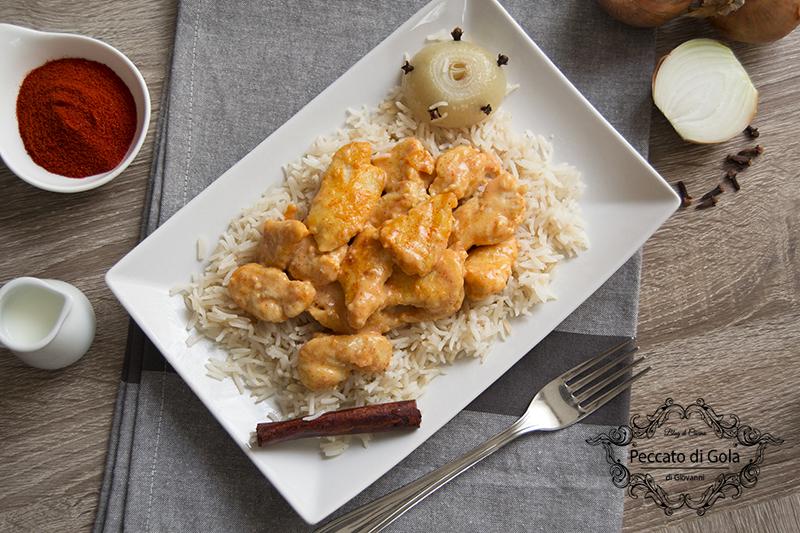 ricetta pollo con paprika e riso pilaf, peccato di gola di giovanni