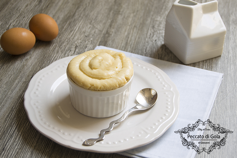 ricetta crema pasticcera senza zucchero e senza glutine, peccato di gola di giovanni