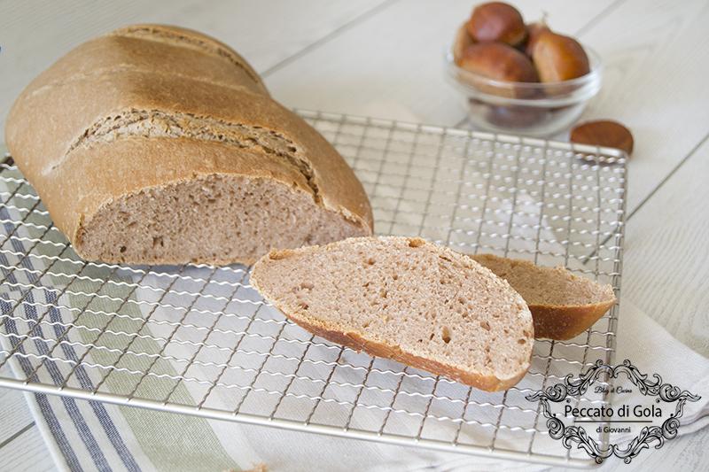 ricetta pane di castagne, peccato di gola di giovanni