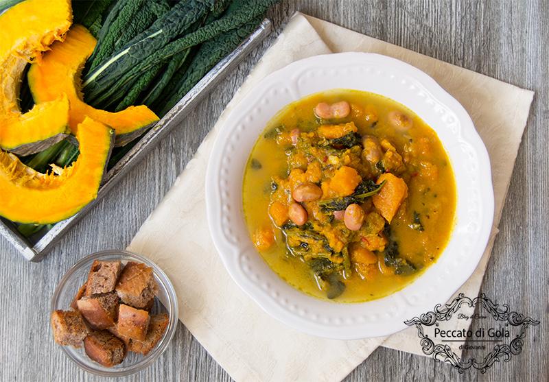 ricetta zuppa autunnale, peccato di gola di giovanni