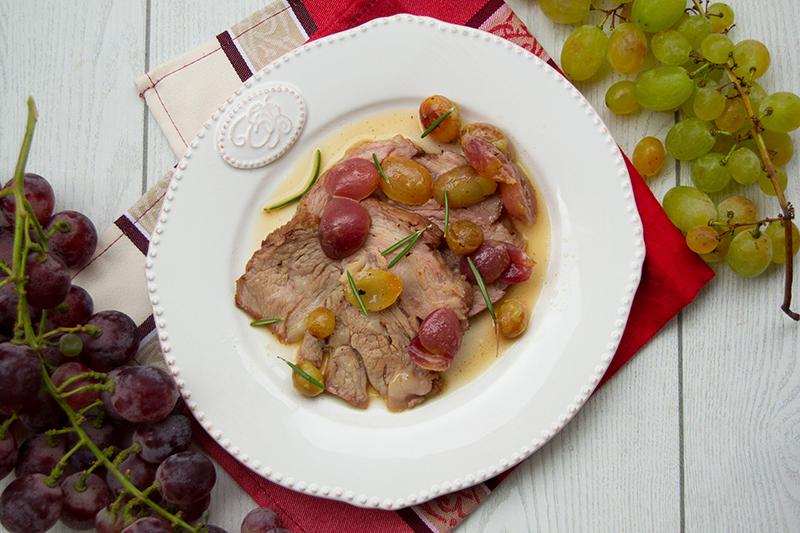 ricetta arrosto all'uva, peccato di gola di giovanni
