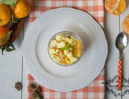 Macedonia di frutta senza zucchero