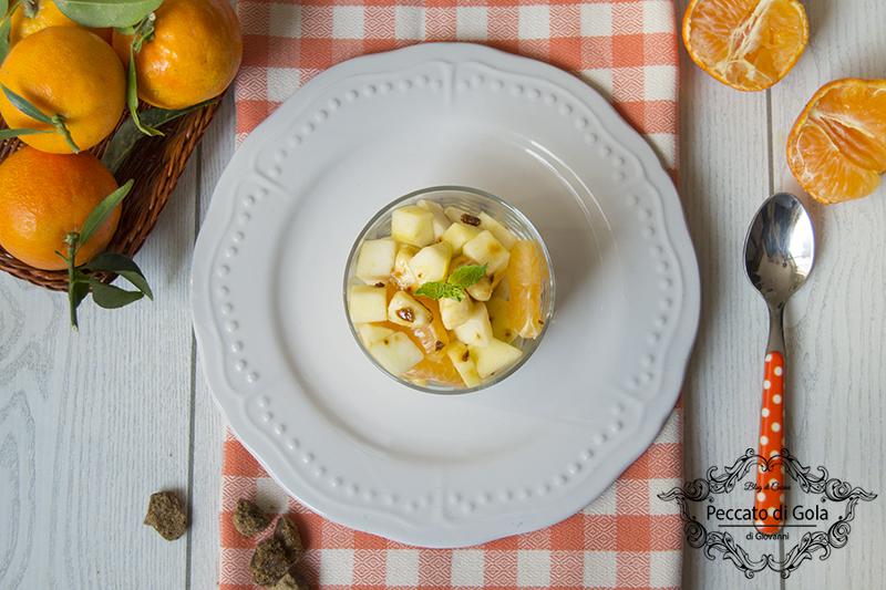 ricetta macedonia di frutta senza zucchero, peccato di gola di giovanni