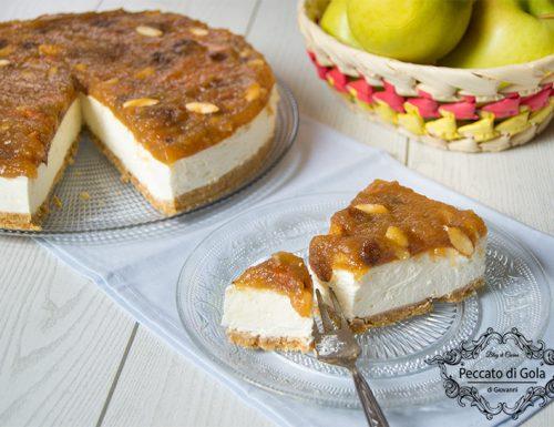 Strudel cheesecake