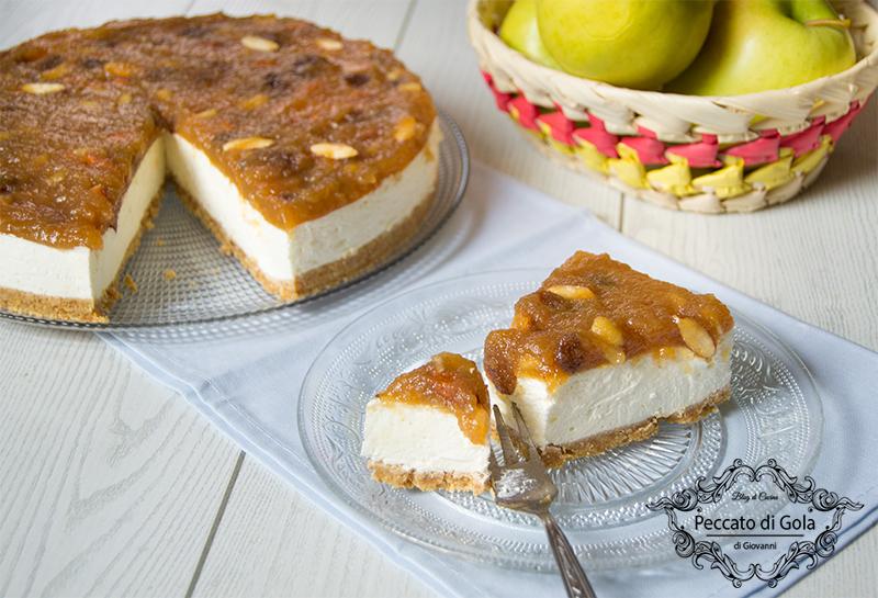 ricetta studel cheesecake, peccato di gola di giovanni