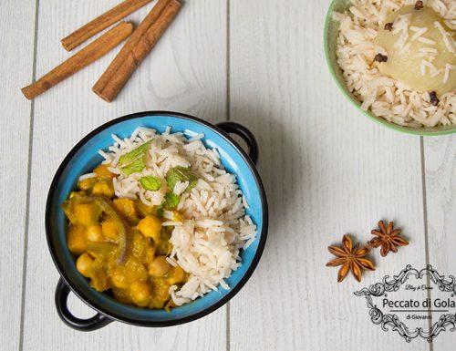 Curry vegetariano alla zucca