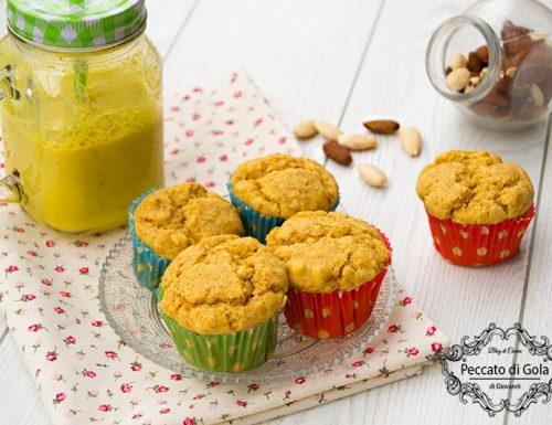 Muffin vegan alla zucca