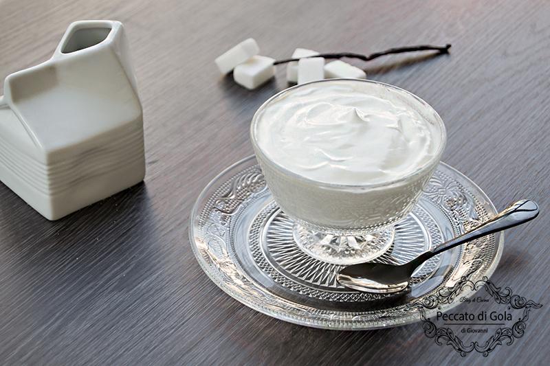 ricetta crema di yogurt, peccato di gola di giovanni