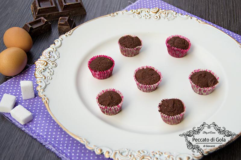 ricetta base per cupcake al cioccolato, peccato di gola di giovanni