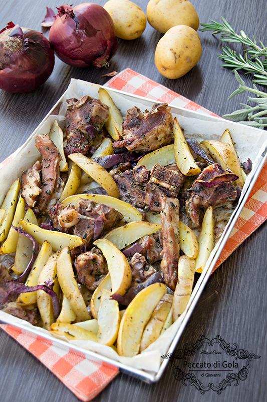 ricetta capretto al forno con patate, peccato di gola di giovanni 2