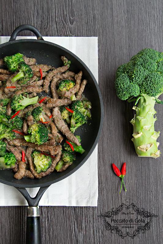 ricetta straccetti di manzo coi broccoli, peccato di gola di giovanni 2