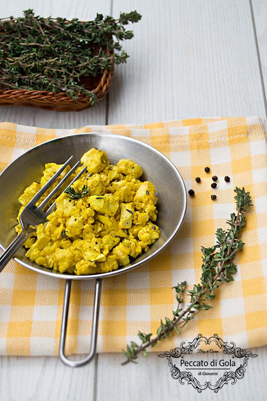 ricetta uova strapazzate vegan, peccato di gola di giovanni 2