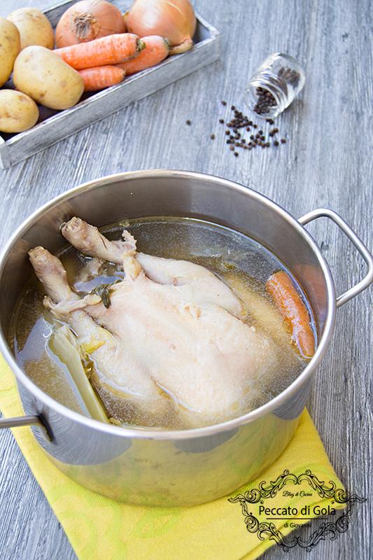 ricetta brodo di gallina o pollo, peccato di gola di giovanni 2