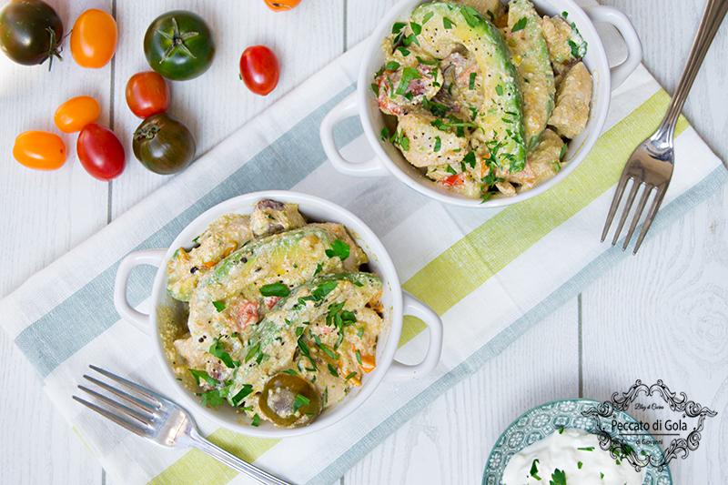 ricetta insalata di pollo e avocado, peccato di gola di giovanni