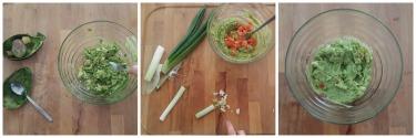 stick di tofu fritto con guacamole, peccato di gola di giovanni 4