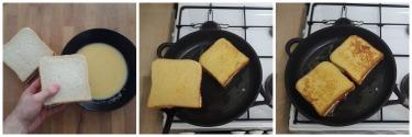 french toast ricotta e fragole, peccato di gola di giovanni 4