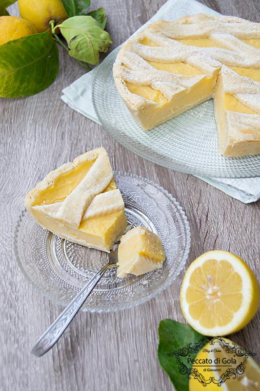 ricetta crostata con crema di limoni, peccato di gola di giovanni 2