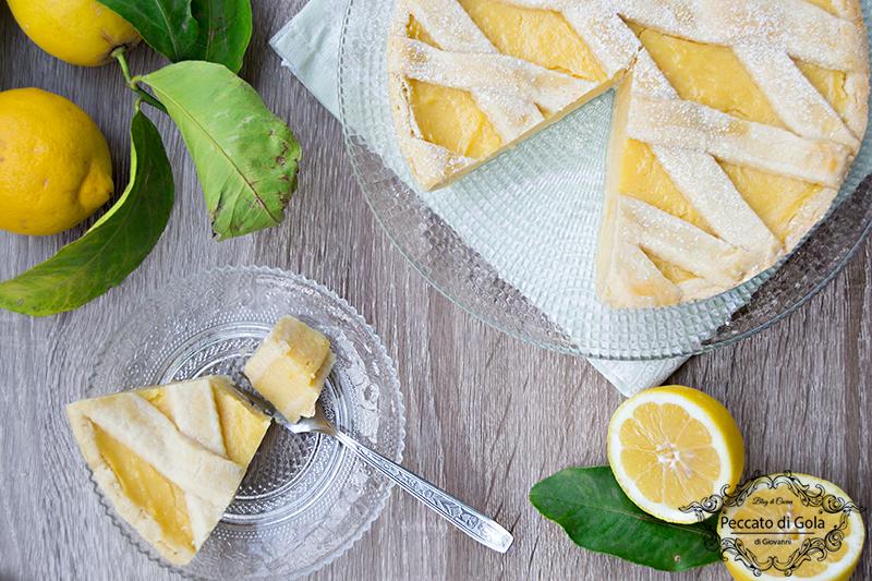 ricetta crostata con crema di limoni, peccato di gola di giovanni