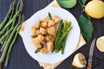 ricetta pollo croccante con asparagi, peccato di gola di giovanni