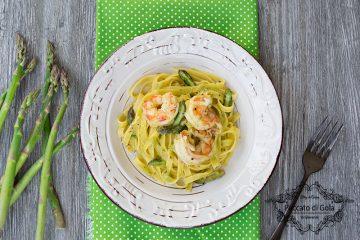ricetta tagliatelle con asparagi e asparagi, peccato di gola di giovanni