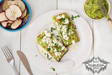 ricetta avocado toast, peccato di gola di giovanni