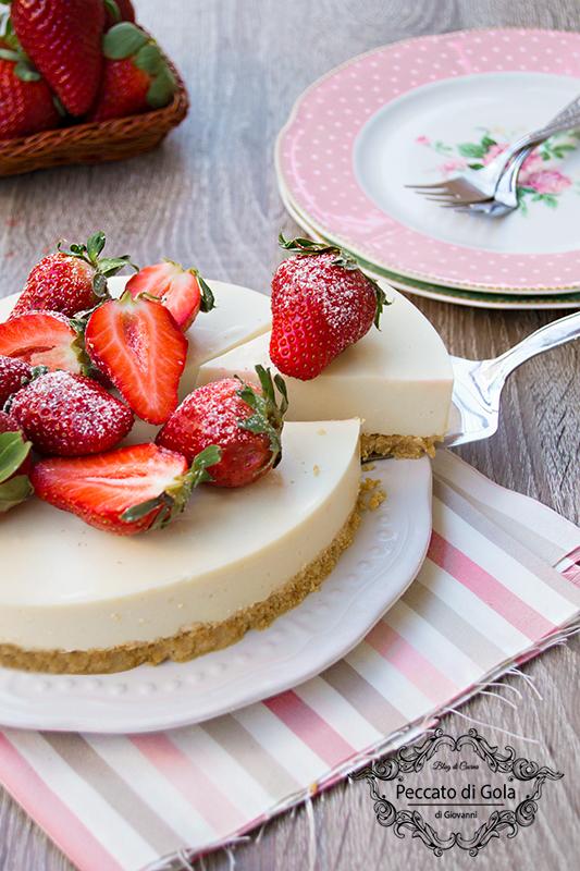 ricetta cheesecake vegan fredda, peccato di gola di giovanni 2