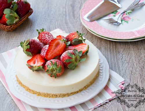 Cheesecake vegan fredda