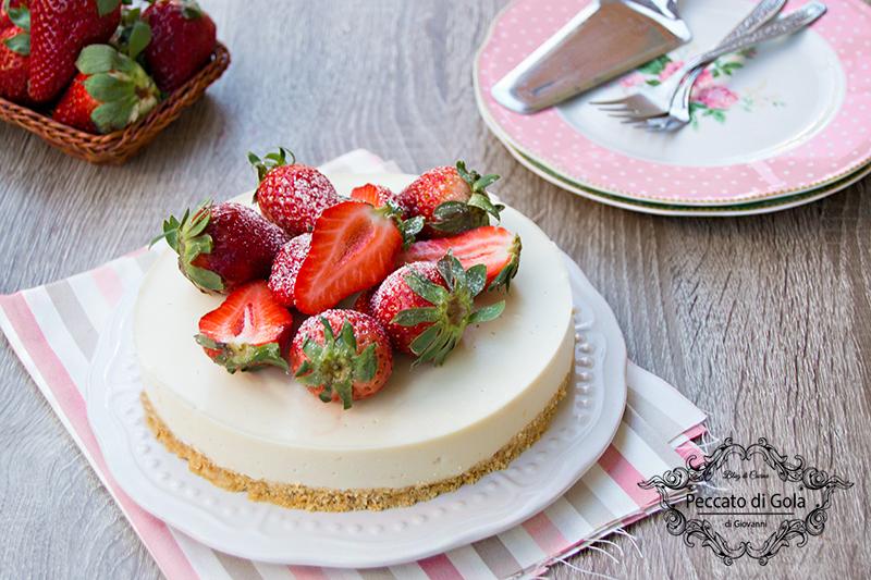 ricetta cheesecake vegan fredda, peccato di gola di giovanni