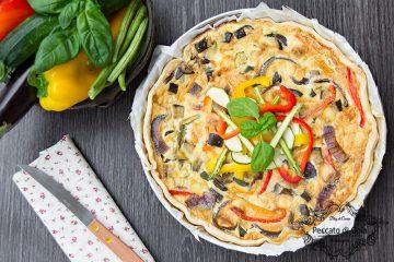 ricetta torta salata con le verdure, peccato di gola di giovanni