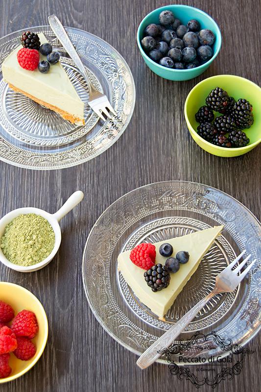 ricetta cheesecake al tè matcha, peccato di gola di giovanni 2