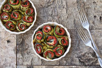 ricetta involtini di zucchine al ragù, peccato di gola di giovanni