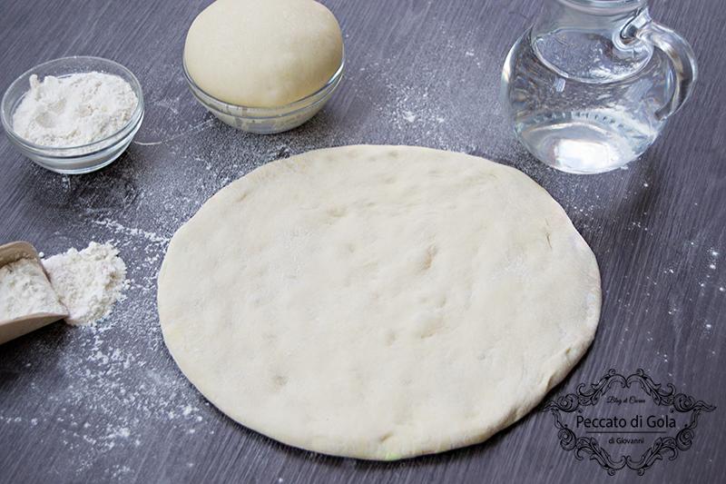 ricetta pasta per la pizza, peccato di gola di giovanni