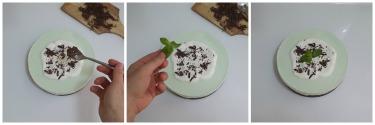 cheesecake menta e cioccolato, peccato di gola di giovanni 6
