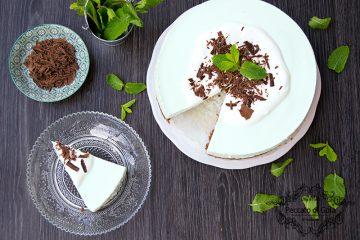 ricetta cheesecake menta e cioccolato, peccato di gola di giovanni