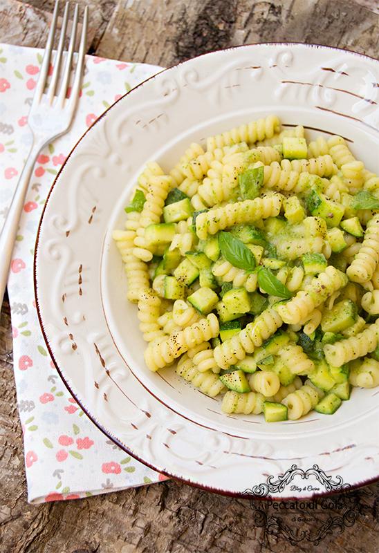 ricetta pasta e zucchine, peccato di gola di giovanni 2