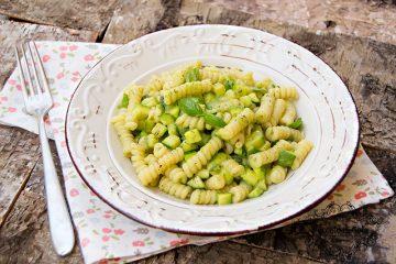ricetta pasta e zucchine, peccato di gola di giovanni