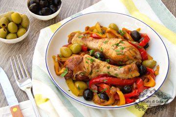 ricetta pollo e peperoni in padella, peccato di gola di giovanni