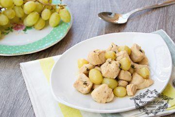 ricetta petto di pollo all'uva, peccato di gola di giovanni