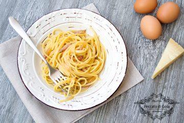 ricetta spaghetti alla carbonara, peccato di gola di giovanni