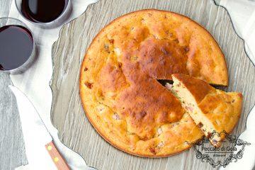 ricetta torta 5 minuti salata, peccato di gola di giovanni