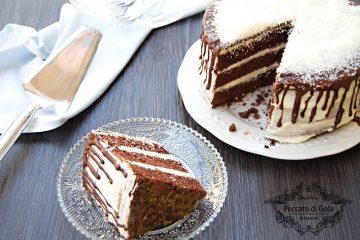 ricetta torta al cioccolato e cocco, peccato di gola di giovanni
