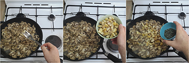 funghi e castagne con tomino, peccato di gola di giovanni 4