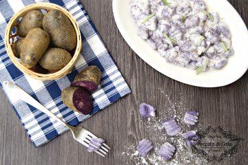 ricetta gnocchi di patate viola, peccato di gola di giovanni