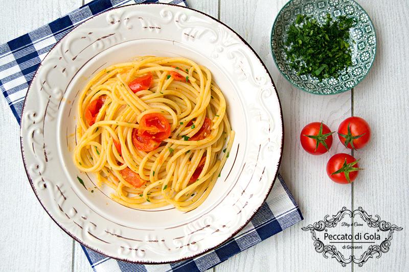 ricetta spaghetti con bottarga e vermicelli, peccato di gola di giovanni