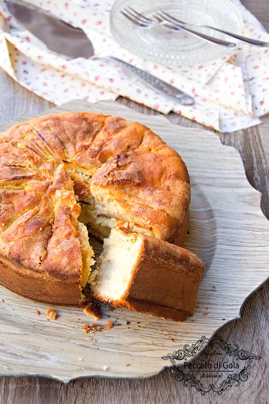 ricetta torta di mele al farro, peccato di gola di giovanni 2