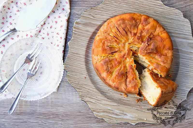 ricetta torta di mele al farro, peccato di gola di giovanni