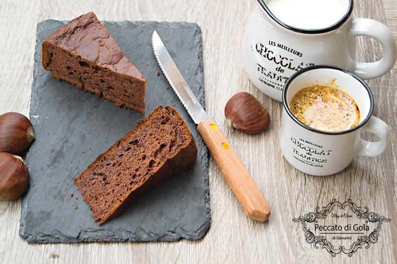 ricetta torta soffice di castagne senza glutine, peccato di gola di giovanni