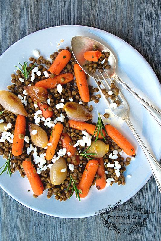 ricetta insalata di lenticchie, peccato di gola di giovanni 2