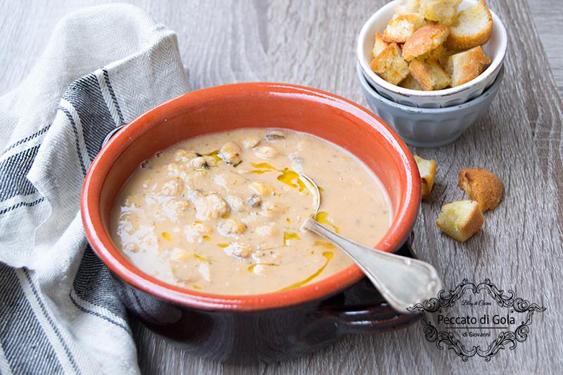 ricetta zuppa di cicerchie, peccato di gola di giovanni