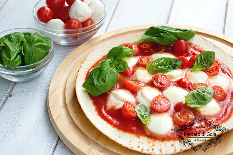 ricetta piadina pizza, peccato di gola di giovanni
